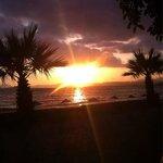 Ausblick am Abend bei WodkaSprite und Efes :-) an der Promenaden Bar