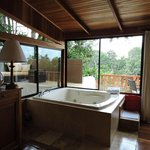 Jacuzzi Tub in Canopy Room