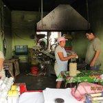 Local tortilla factory.