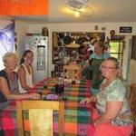 Josefina's dining room.