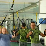 TRX Class with Daniel and Marisol