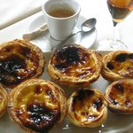 "Just out of the oven ""pasteis de nata"""