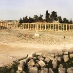 The Oval Forum in Jerash