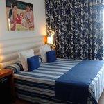 un hotel en primera linea de mar:) inmejorablr