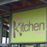 The Kitchen@Tower sign