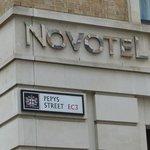 Novotel Sign