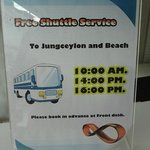 Shuttle service offered