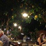 la vista esterna del ristorante