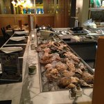 oyster bar @ Moonstones, Chelmsford, MA