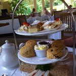 Afternoon Tea at the Duchess Tea Room Woburn Abbey.
