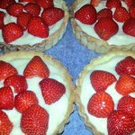 Gluten free strawberry tarts x