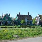 Houses look like the ones in Marken