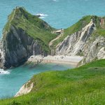 One of the beaches at Durdle Door