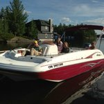 19' Hurricane Deckboat for rent