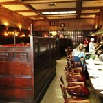 Restaurant historic interior