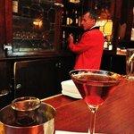 Friendly bartenders (Manhattan Cocktail)