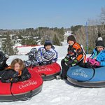 Snow tubing at Giants Ridge