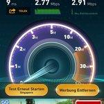 WiFi speedtest 2:45am