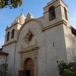 Facade, Carmel Mission Church