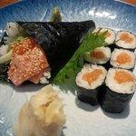 Spicy Sake Hand Roll and Sake Make
