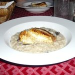 Red Snapper filet and risotto