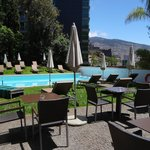 The small outdoor swimming pool (next to Four Views hotel)