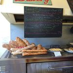 Tomales Bakery menu board 6/8/14