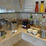 Выбор напитков в Executive lounge