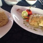 A la carte fish restaurant on the beach