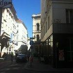 Herrengasse Street
