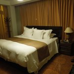 The only or one of a few king bed rooms