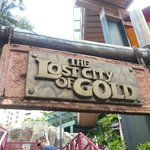 lost city train sign