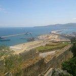 Vue du port depuis merkala