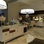 Elegant 1st floor lobby area at Nizuc