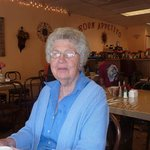 My fun mother-in-law at Little Italy Susanville! Mama mia! Good food!