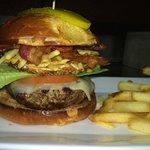 Amazing American Rock Burger!
