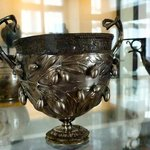 Silver cup from Pompeii