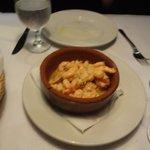 Shrimp appetizer was really good