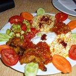 Mix d'entrées turques