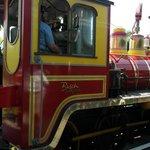 Busch Gardens train