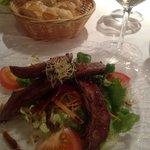 le Canard salad