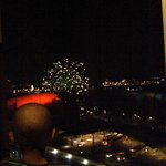 Firework show from our room