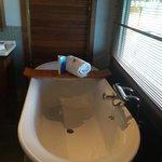 The soaker tub :)