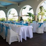 Our wedding reception at Asterias