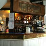A view of the bar, White Horse, Chilham