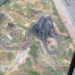 View of Dinosaur Golf from Skywheel