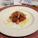 Panzanella con olive