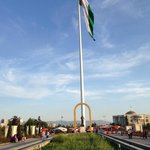 The world's tallest free-standing flagpole