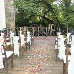 Ceremony on the River deck