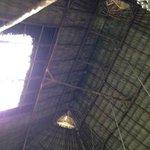 High ceilings in the lobby